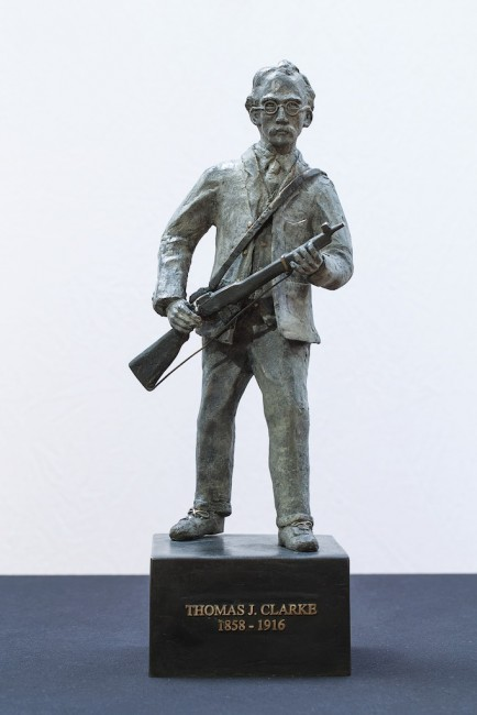 Irish Bronze Sculpture